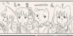 【リサの手作りカフェ】第45話「大掃除よりも採寸???」【マンガ】