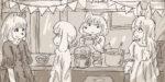 【リサの手作りカフェ】第108話「メルちゃんのお別れ会」【マンガ】